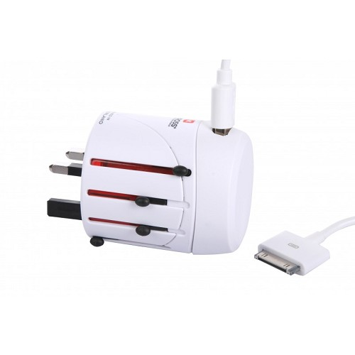 SKROSS World Adapter Classic Complete [1.300120] - Universal Travel Adapter